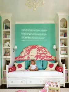 sweet little girl's room | lori may interiors