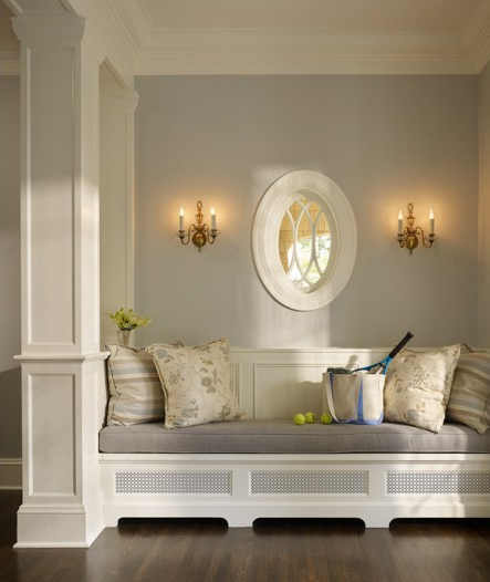 Foyer Seating Area : Bench vs console table which would you choose lori may