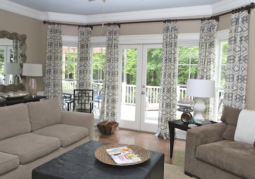 How to lighten up your space with new window treatments  : IMG7784 from lorimayinteriors.com size 500 x 351 jpeg 70kB