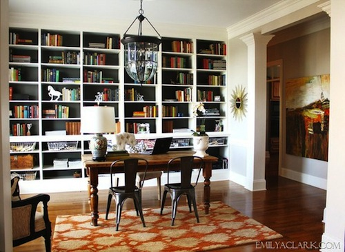 Using your dining room as your home office could you do for Dining room into office