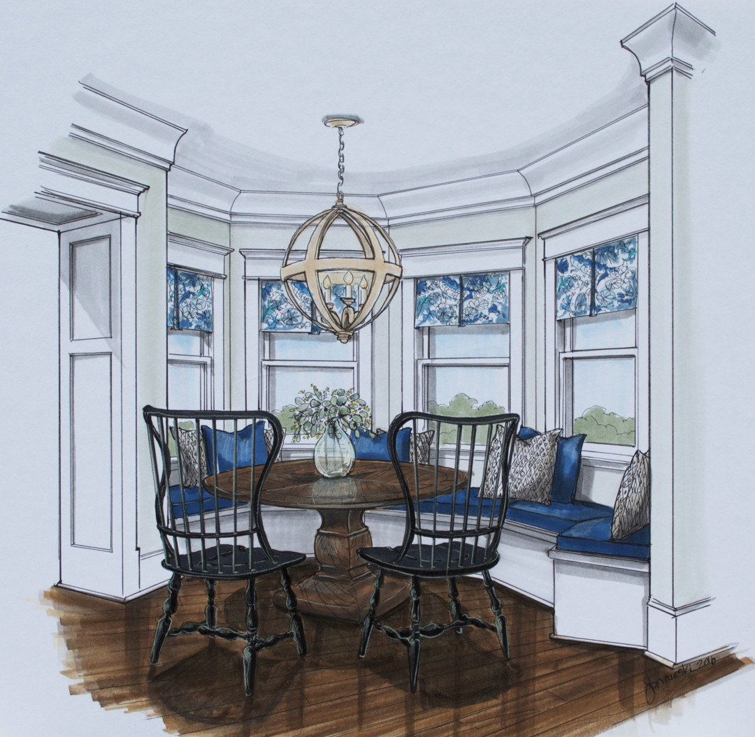 13 Kerley Breakfast area rendering