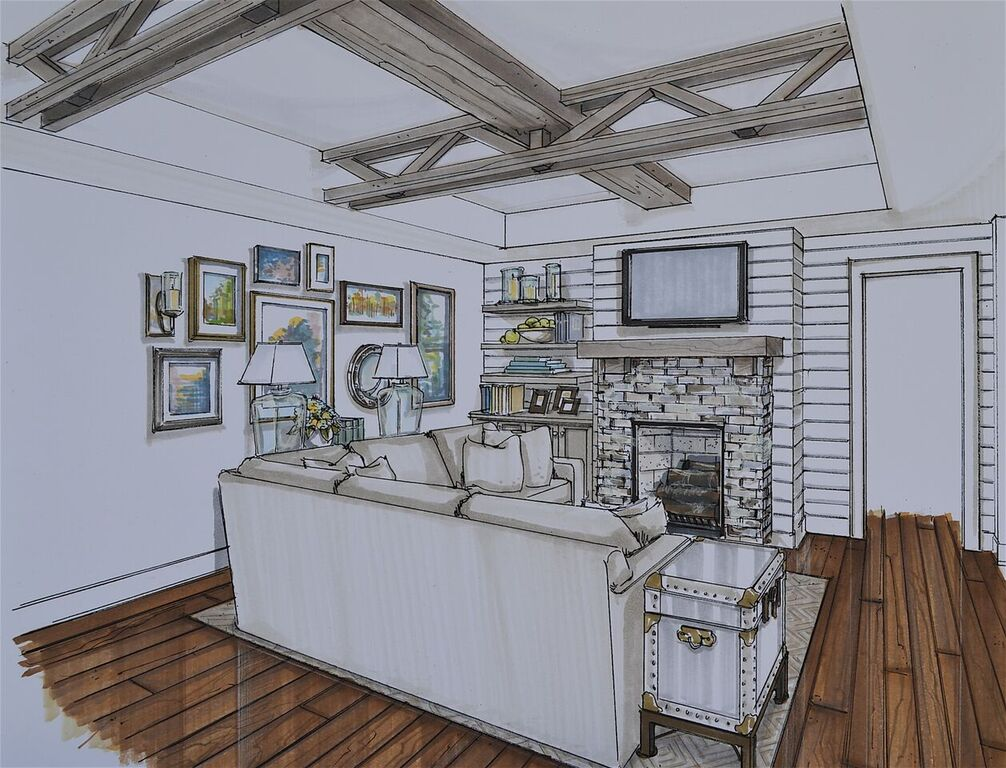7 Balas renovation rendering