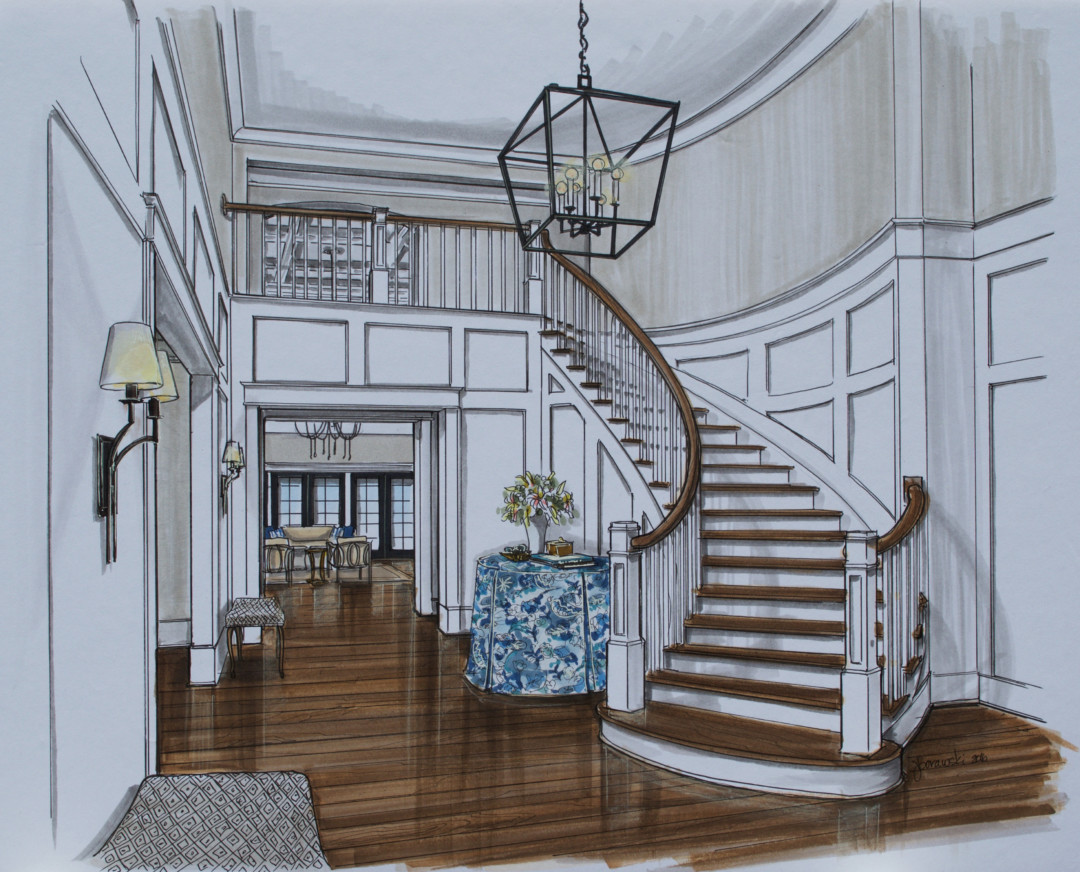 11 Kerley Foyer rendering
